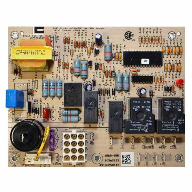 Goodman Furnace Wiring Diagram B1370738 Goodman Blower Time